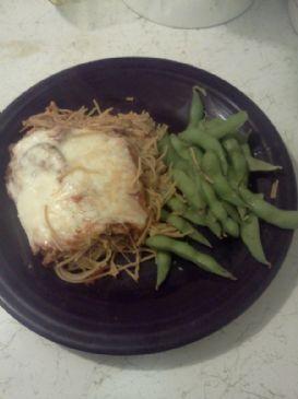 Geevie's Eggplant Parmesan & Spaghetti Bake