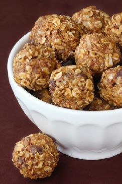 No Bake Healthy Energy Bites