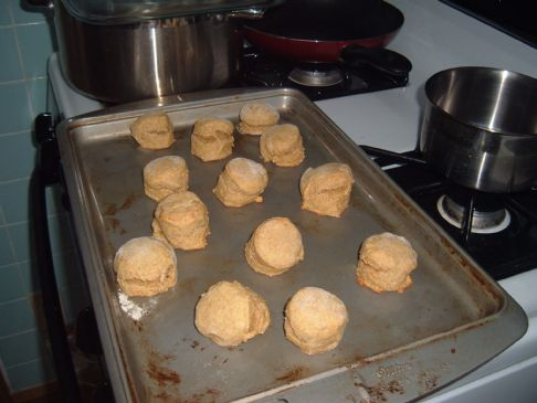 Wheat Pumpkin Scones