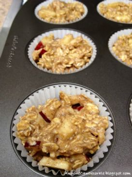 Oatmeal Apple Cinnamon Muffins