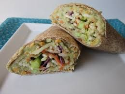 Avocado & White Bean Wrap