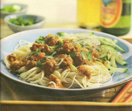 Dan Dan Noodles Recipe | SparkRecipes