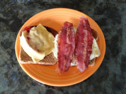 Hearty, Reduced Calorie Breakfast Sandwich