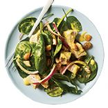 Curried Turkey, Spinach, and Cashew Salad