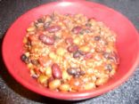 Three Bean Lean Chili