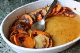 sweet potatoes & apples, baked