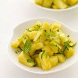Ginger-Mint Pineapple Salad