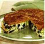 Black Bean Tortilla Pie Casserole