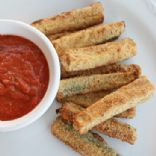 "Baked Zucchini ""Fries"""