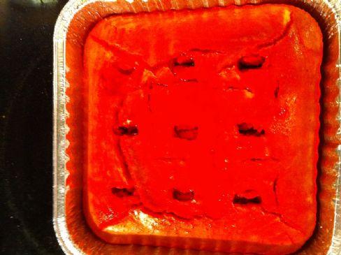 Oat Flour Soak Cake