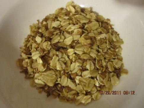 Crispy Maple Syrup Granola