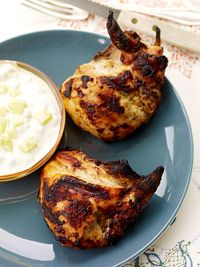 Tandoori Chicken with Raita