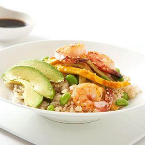 Shrimp and Avocado Bowl