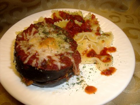 Quick and Easy Eggplant Parmesean