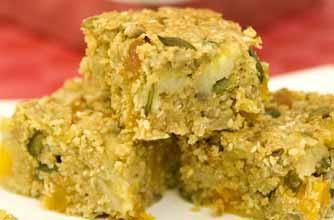 Banana and Three Seed Energy Bars