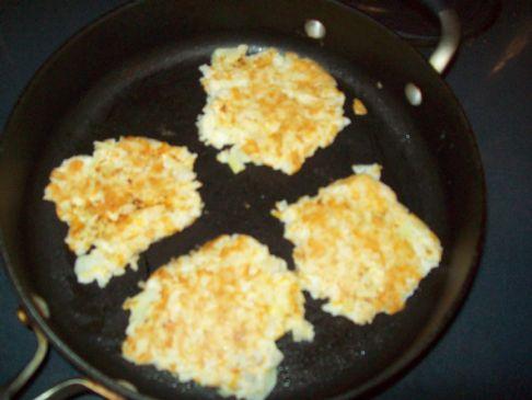 Cheddar Rice Patties