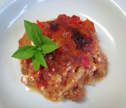 Spaghetti Squash Lasanga Casserole
