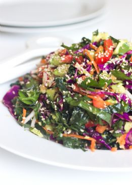 Detox Salad with Lemon Dressing