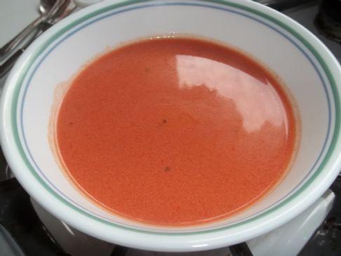 Judy's Homemade Creamy Tomato Soup