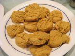 peanut butter coconut flour cookies