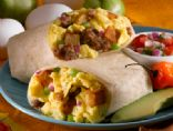 Sausage, Egg & Cheese Breakfast Roll-Up