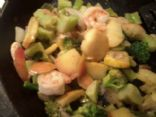 Apple Broccoli Stir Fry (Side or Meal)