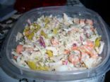 Cole Slaw Salad with Peanut dressing