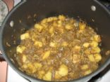 Spicy Curried Eggplant and Potato (Baingan Bharta)