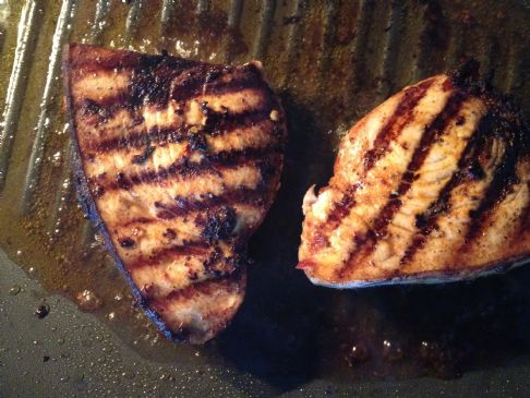 Swordfish with Chili Garlic Marinade