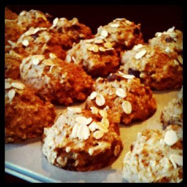 Oatmeal Trail-mix Muffins
