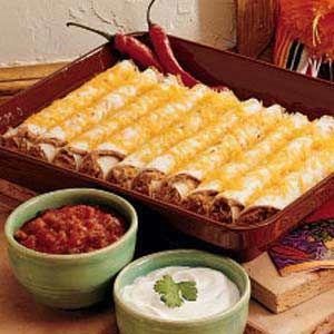 Southwest Roll-ups, 161 cals per tortilla roll