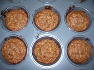 Becky's Oatmeal Strawberry Protein Muffin