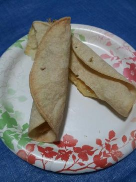 Simple Baked Chicken Taquitos