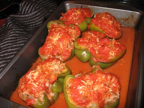 I'm-So-Stuffed Bell Peppers