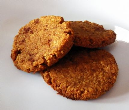 Paleo Pumpkin Spice Cookies ~ Low Carb ~ 1 Cookie Serving