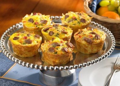 Amazing Turkey Sausage Egg Muffin Cups
