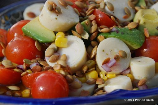 AVOCADO AND HEARTS OF PALM CHOP CHOP SALAD