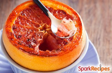 Easy Grilled Grapefruit