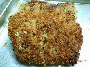 Panko crusted Pork Cube Steak