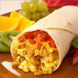 Tofu and Hummus Breakfast Burrito