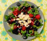 Mountain berry salad