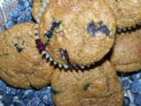 Blueberry Bran Wheat Muffins