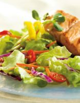 Grilled Fish Fillet Salad