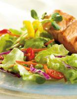 Grilled Fish Fillet Salad