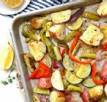 Super Easy Roasted Veggies