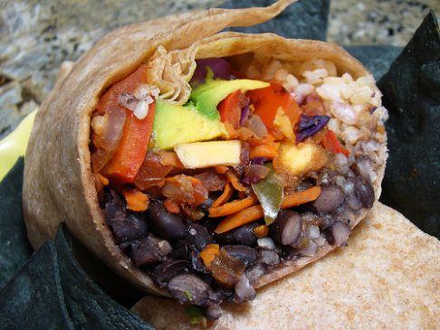 Black Bean, Lentil, and Brown Rice Burrito Fillin' Recipe ...