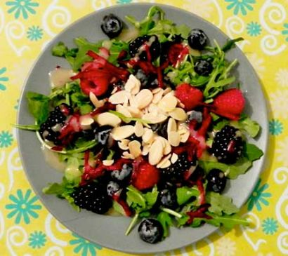 Mountain berry salad