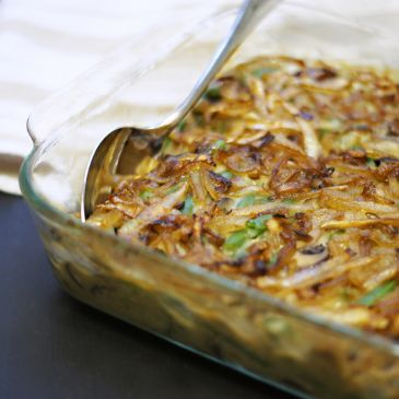 Clean Green Bean Casserole