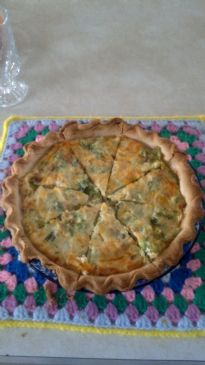 Broccoli - Cheddar Quiche 9Weight Watcher's)