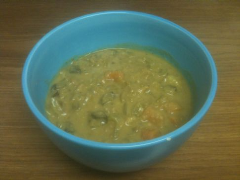 Low Sodium Vegan Split Pea Soup